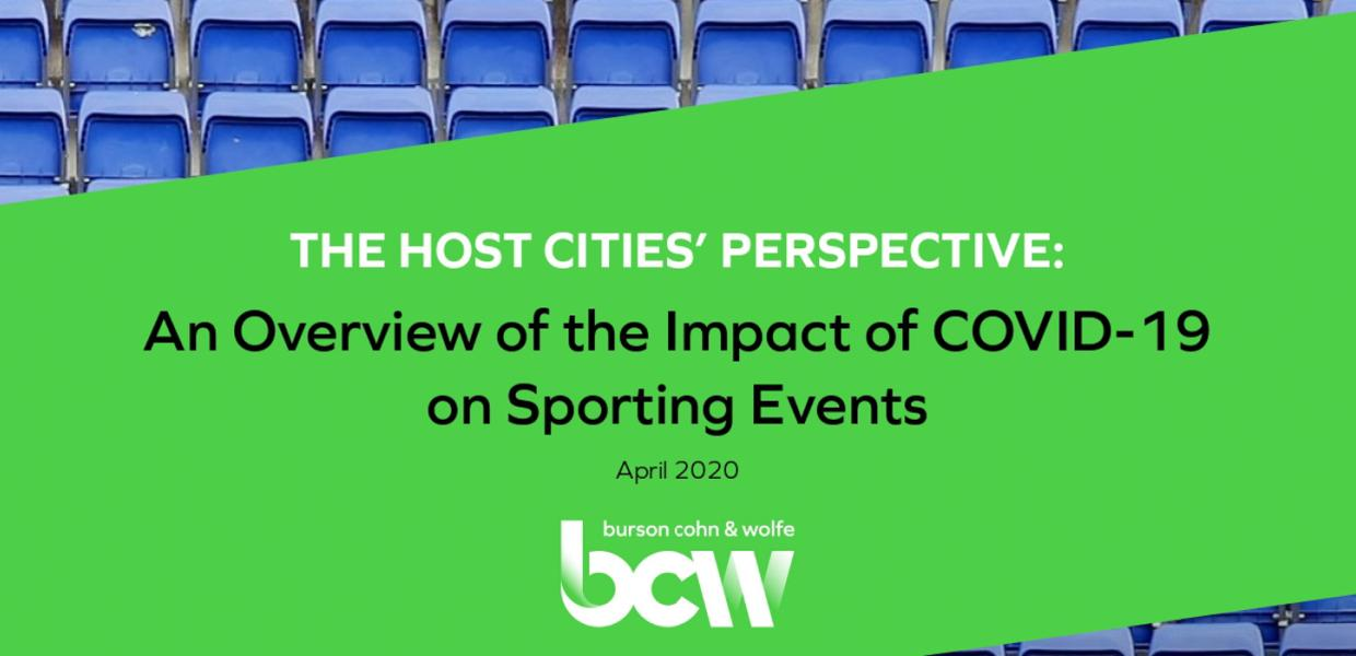 An Overview of the Impact of COVID-19 on Sporting Events